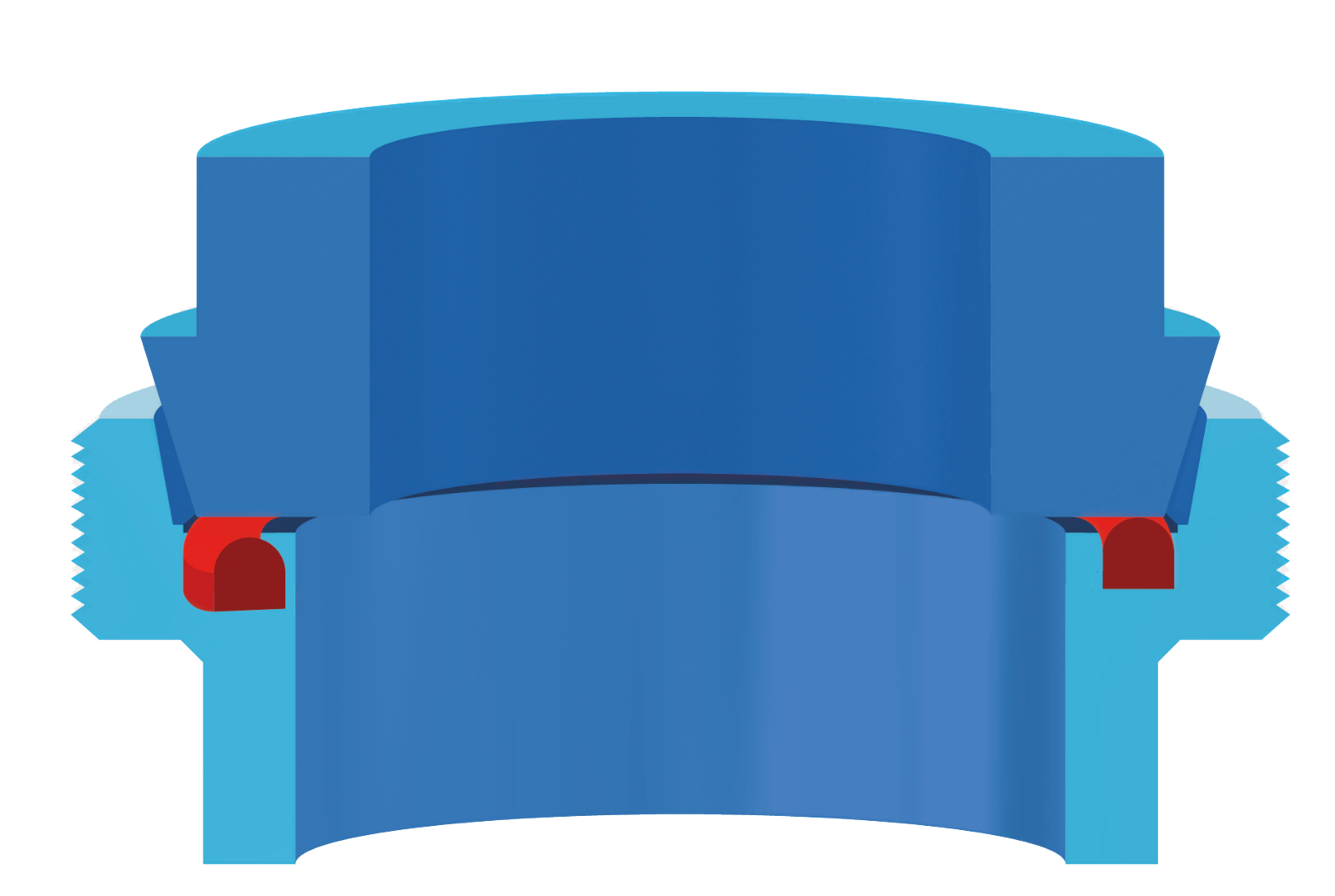Joint pour tuyaux laitiers ERIKS - composé514342